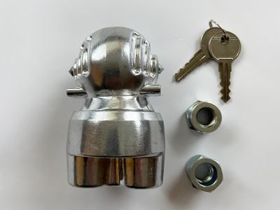 Ball Type Hitchlock with Security Nuts