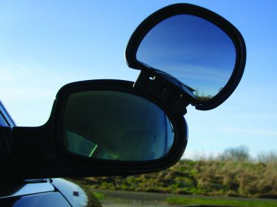 Aero Adjustable Blind Spot Mirror