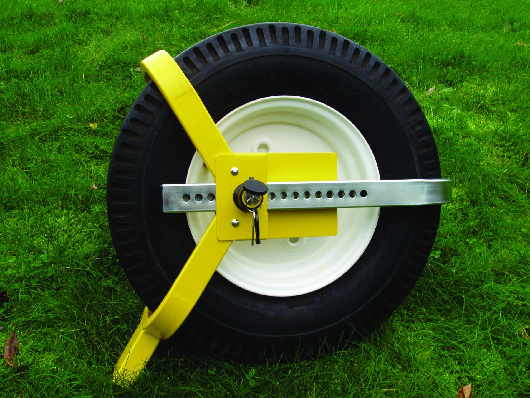 Milenco Wraith Wheel Lock Insurance Approved Caravan Security Accessories