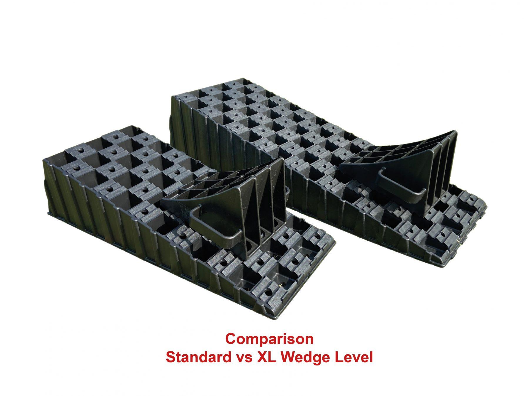 Milenco MGI Wedge Level and Chock Single Extra Wide Caravan Motorhome    5241