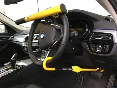 0499 High Security Steering Wheel Lock And Brake Lock