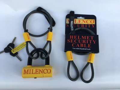 1373 Helmet Security Cable With Dudrod Lock